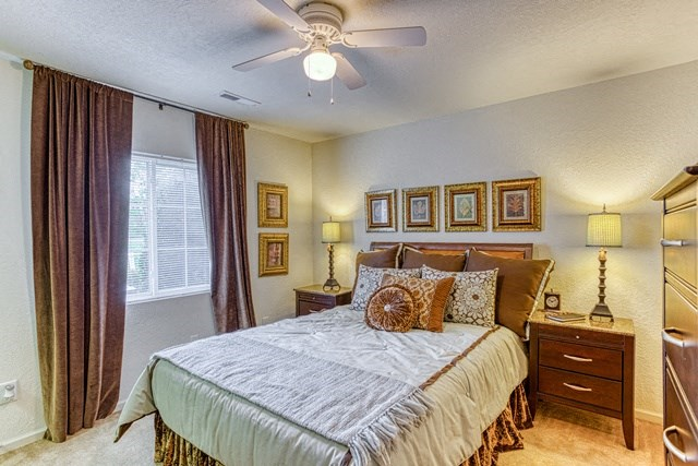 Spacious Bedroom at Copper Mill Village Apartments, High Point, NC, 27265