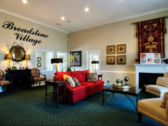 Community Clubhouse at Broadstone Village Apartments, North Carolina