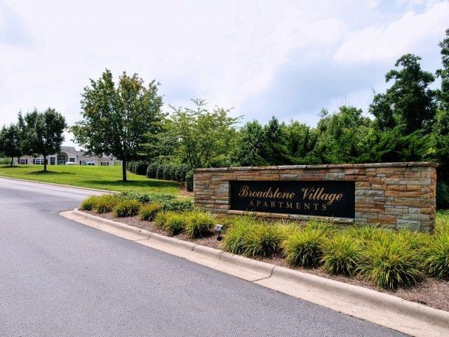 Front Entrance at Broadstone Village Apartments, High Point, NC