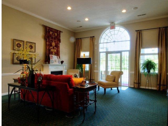 Unique Clubhouse Decor at Broadstone Village Apartments, North Carolina, 27260