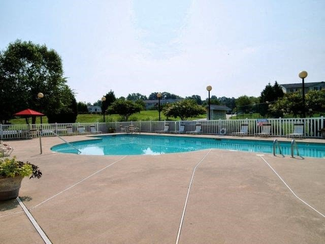 Resort-Inspired Pool at Broadstone Village Apartments, High Point, NC