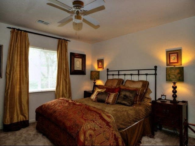 Private Master Bedroom at Broadstone Village Apartments, High Point, North Carolina