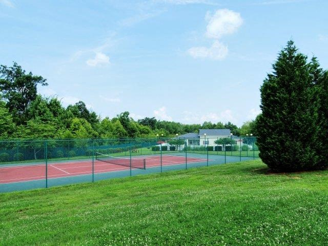 Tennis Court at Broadstone Village Apartments, North Carolina