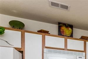 Kitchen Cabinets at Hidden Creek Village Apartments, Fayetteville, NC, 28314