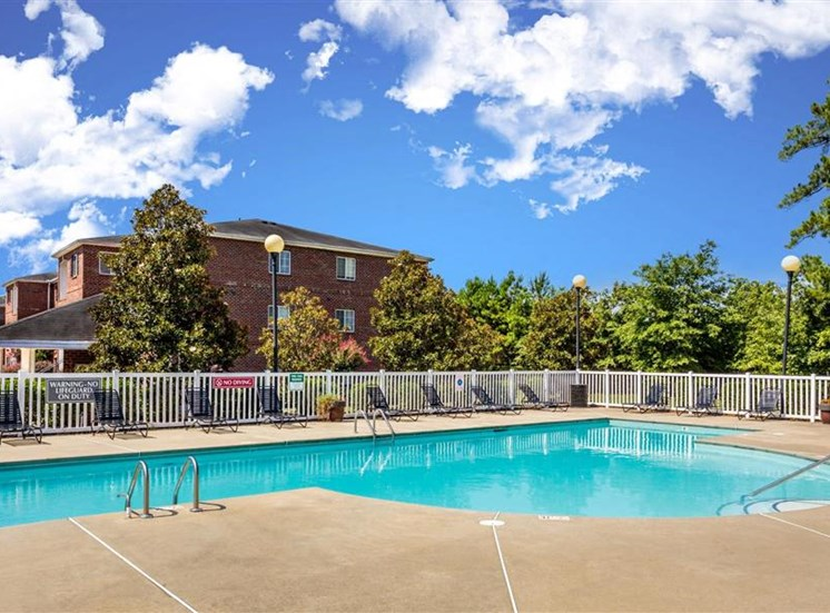 Refreshing Pool at Hidden Creek Village Apartments, Fayetteville, 28314