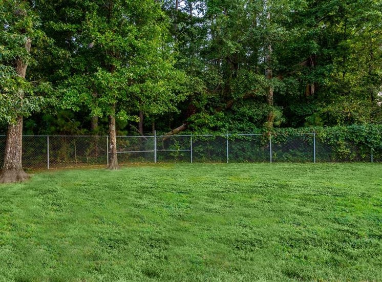 Lush Green Lawn at Hidden Creek Village Apartments, Fayetteville, NC, 28314