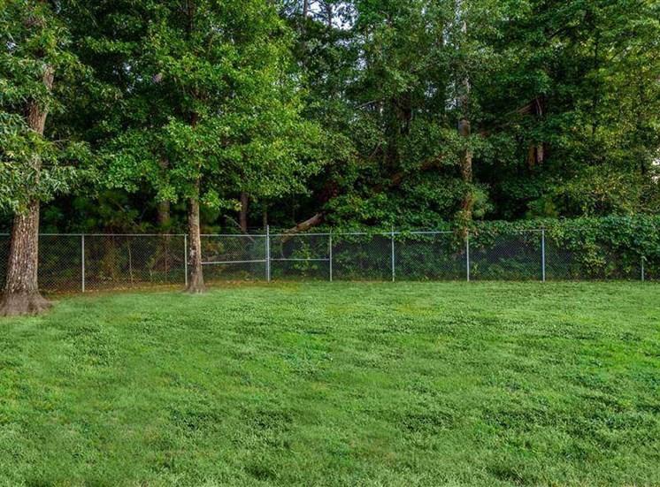 Lush Green Lawn at Hidden Creek Village Apartments, Fayetteville, NC, 28314