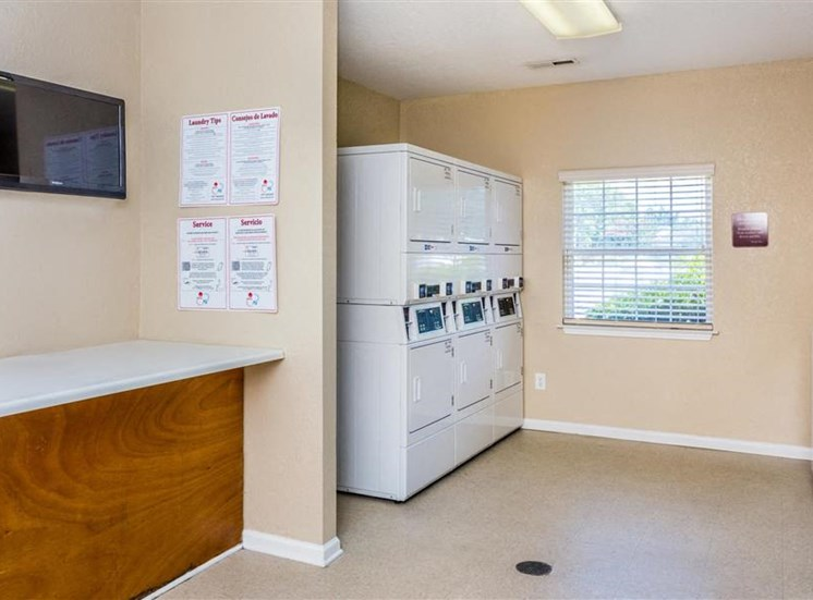 Washer and Dryers at Hidden Creek Village Apartments, North Carolina