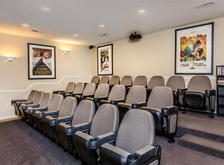 Movie Theater at Eagle Point Village Apartments, North Carolina, 28314