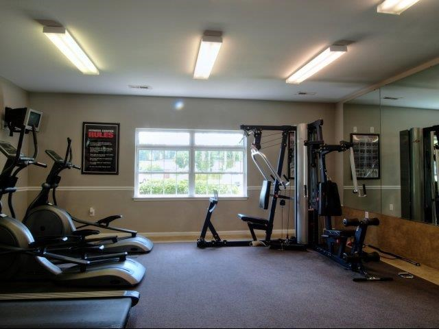 Fitness Center at Battleground North Apartments, Greensboro, 27410