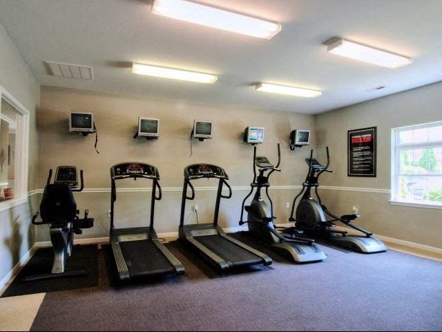 Fitness Equipment at Battleground North Apartments, Greensboro, North Carolina