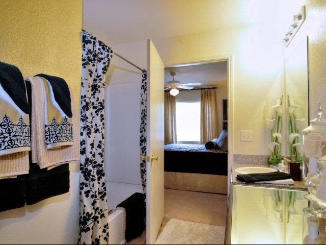 Designer Bathroom Suite at Battleground North Apartments, Greensboro, NC