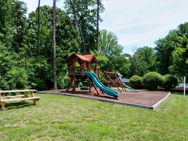 Children's Play Area  at Battleground North Apartments, North Carolina, 27410