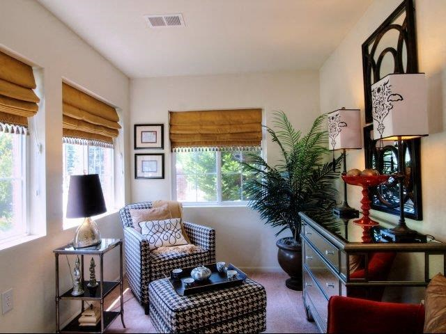 Upgraded Living Space Interior at Battleground North Apartments, Greensboro, 27410
