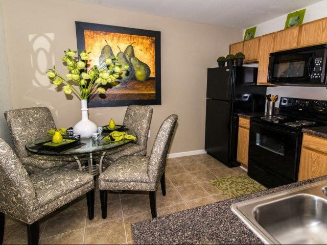 Spacious Kitchen with Pantry Cabinets at Cedarcrest Village Apartments, Lexington, SC, 29072