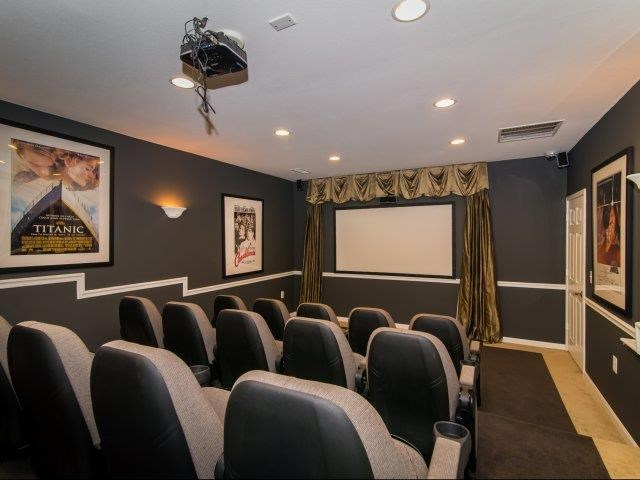 Movie Theater at Cedarcrest Village Apartments, Lexington