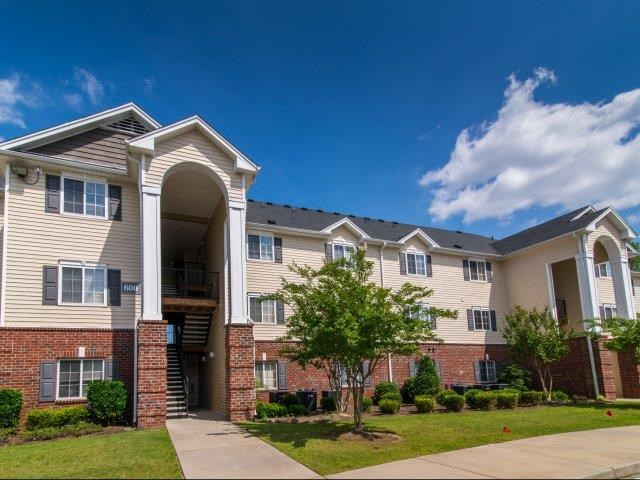 Beautiful Brick Constructed Apartment Complex Exterior at Cedarcrest Village Apartments, Lexington, South Carolina