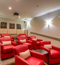 Movie Theater at Cobblestone Village Apartments in Summerville, SC