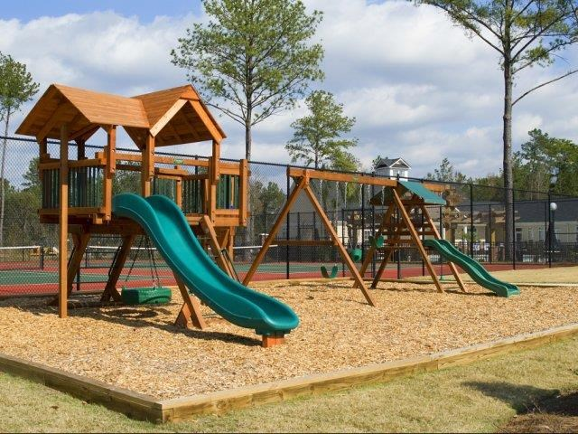 Children's Play Area at Cobblestone Village Apartments, Summerville, SC, 29483