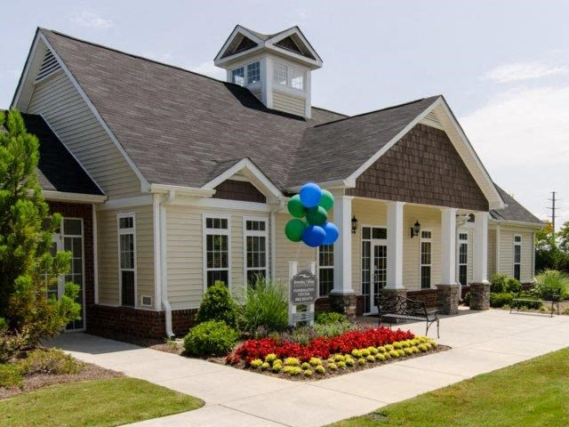 Front Office Entrance at Bromley Village Apartments, South Carolina, 29708
