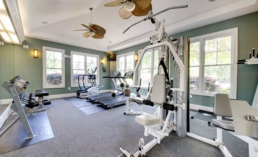 Fitness Center at Falls Pointe Apartments 100 Cascade Falls Ln Durham NC 27713