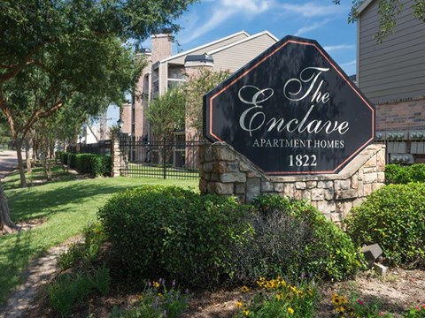 The Enclave at Cypress Park Apartments Houston, TX Entrance Sign