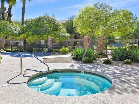 Community outdoor spa