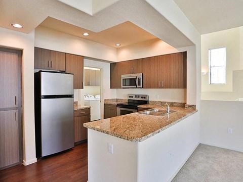 Unfurnished kitchen model