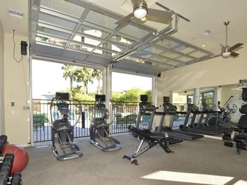 Strength and cardio room