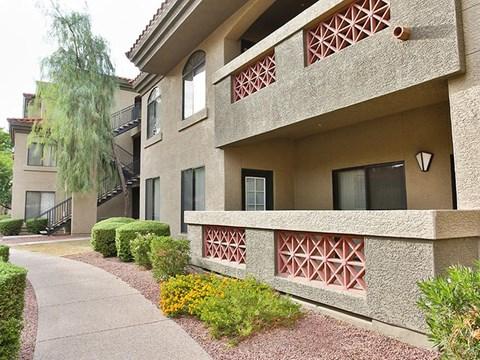 apartment exteriors