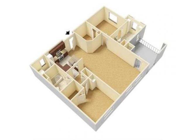 Cascade floor plan.