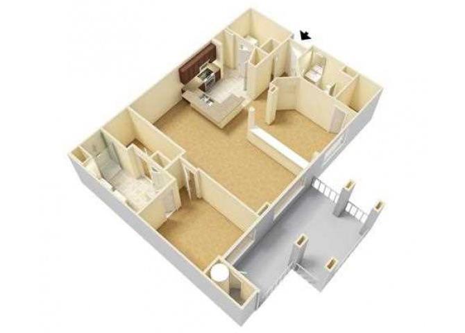 Pure floor plan.