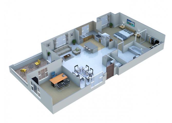 Chrome floor plan.