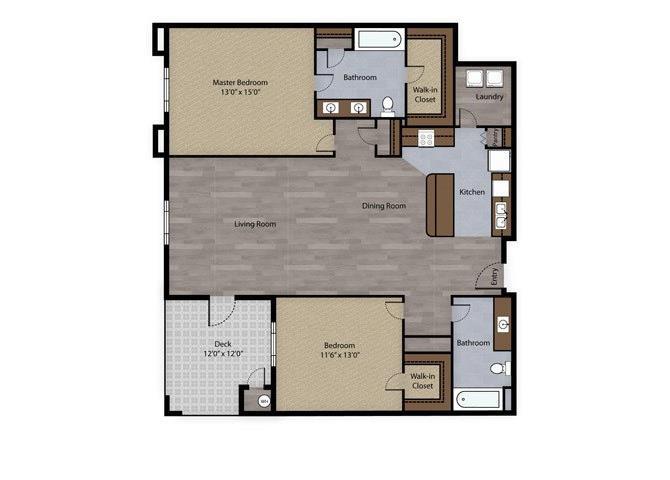 Onyx floor plan.