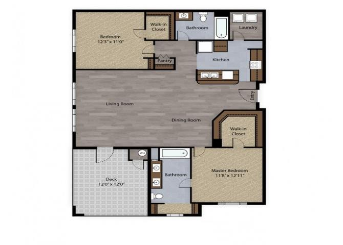 Slate floor plan.