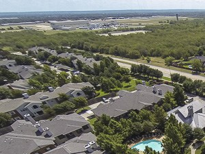 Aerial View | Rock Ridge Apartment Homes | Arlington, TX