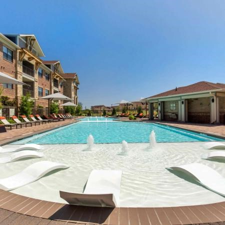 Resort Style Swimming Pool | Sorrel Fairview Apartments | Fairview, TX