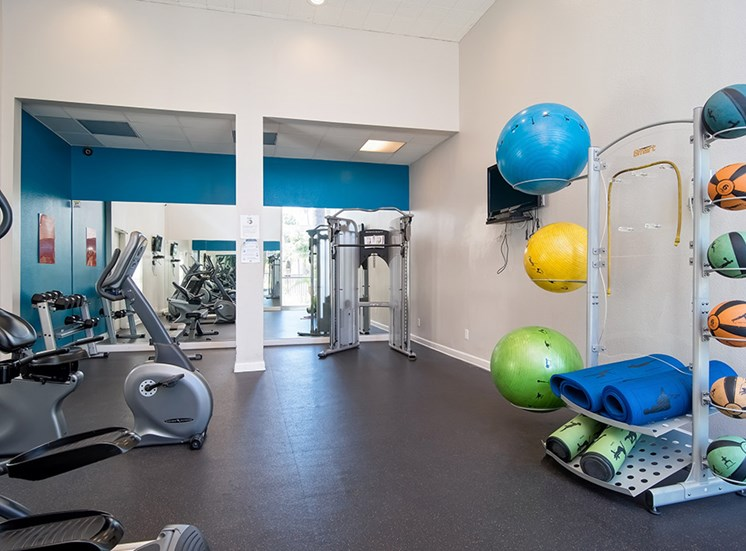 Fitness Center Access at Parc at 5 Apartments, Downey, 90240