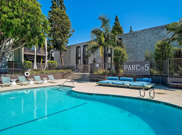 Swimming Pool at Parc at 5 Apartments, California