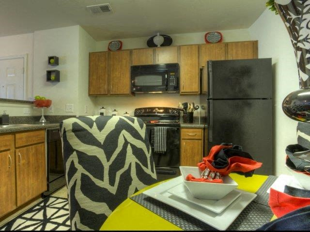 Eat-in Kitchen at Berrington Village Apartments, Asheville, NC, 28803
