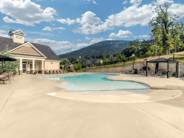 Resort-Inspired Pool at Berrington Village Apartments, Asheville, 28803