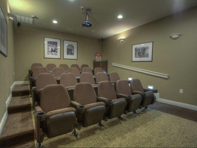 Theater Room at Berrington Village Apartments, Asheville, 28803