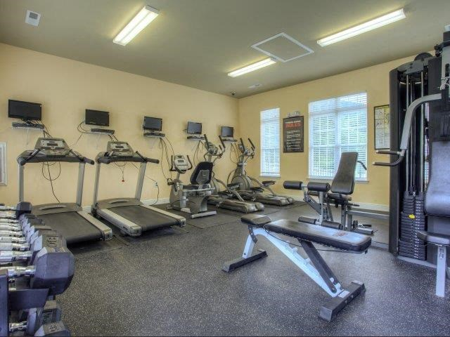 Fitness Center at Berrington Village Apartments, Asheville, NC, 28803