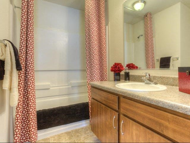 Master Bathroom at Berrington Village Apartments, Asheville, NC, 28803
