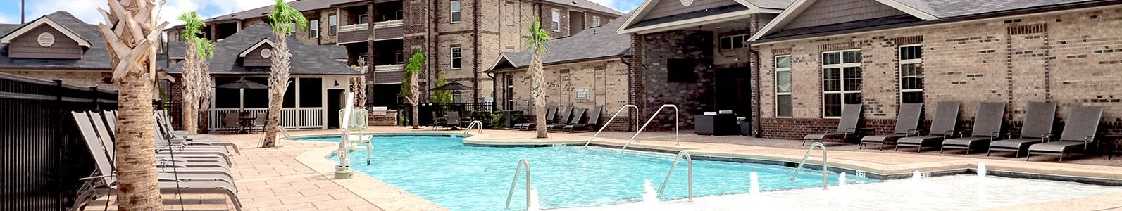 Pool Side Relaxing Area at Amberton at Stonewater, Cary, NC, 27519