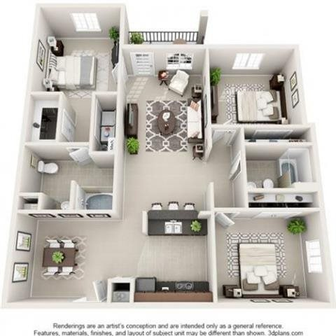 Emerald Floor Plan 4
