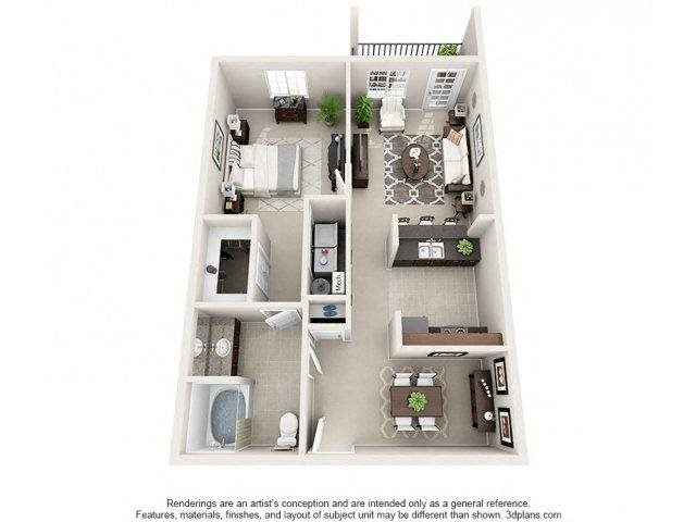 Sunstone Floor Plan 1