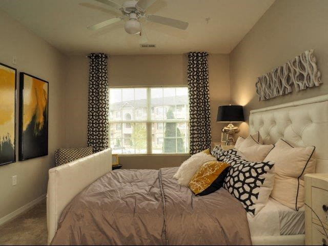Unique Bedroom Decor at Amberton at Stonewater, Cary, NC, 27519