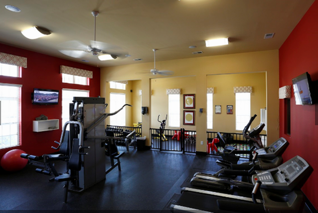 Fully Equipped Fitness Center at Amberton at Stonewater, North Carolina
