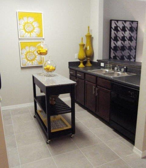 Trendy Kitchen Unit at Amberton at Stonewater, Cary, NC, 27519